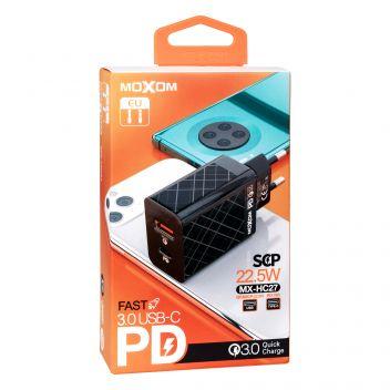 Купить СЕТЕВОЕ ЗАРЯДНОЕ УСТРОЙСТВО MOXOM MX-HC27 PD QC3.0