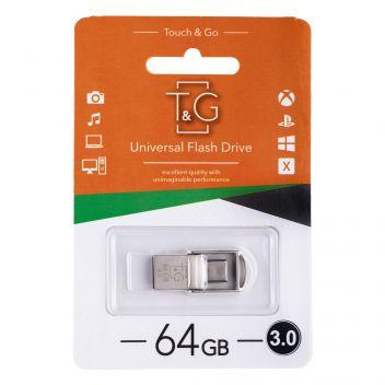 Купить USB OTG T&G TYPE-C 64GB METAL 104