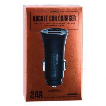 Купить АВТО ЗАРЯДНОЕ УСТРОЙСТВО REMAX RCC 217 2 USB 2.4A