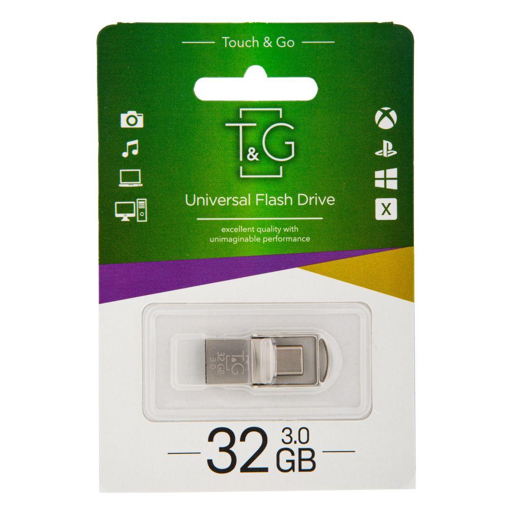 Купить USB OTG T&G TYPE C 32GB METAL 104