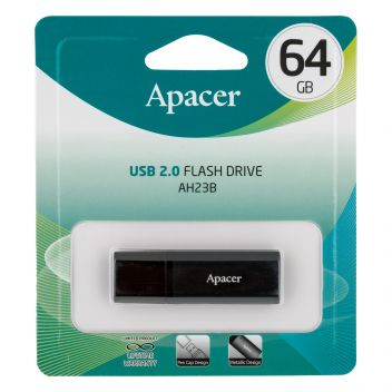 Купить USB FLASH DRIVE APACER AH23B 64GB