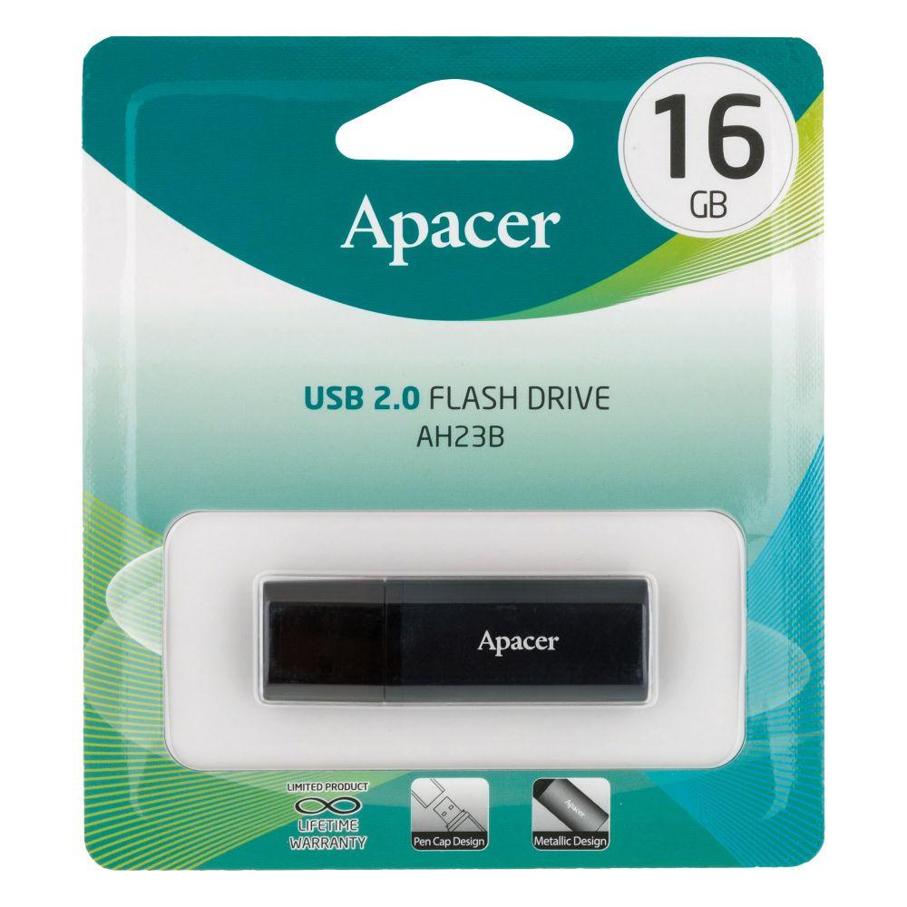Купить USB FLASH DRIVE APACER AH23B 16GB