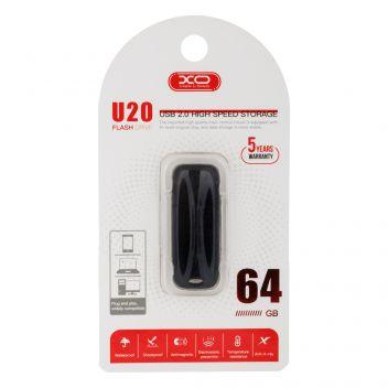 Купить USB FLASH DRIVE XO U20 64GB