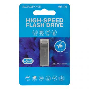 Купить USB FLASH DRIVE BOROFONE BUD1 16GB