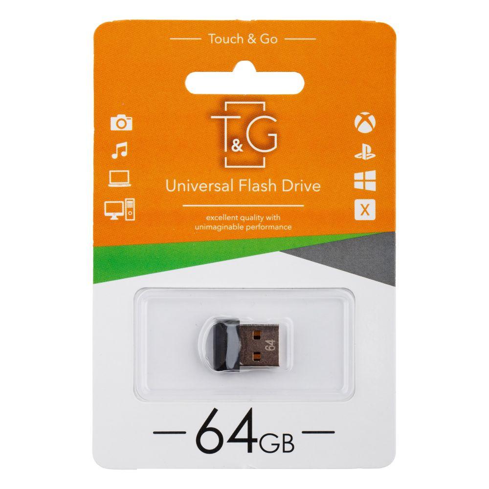 Купить USB FLASH DRIVE T&G 64GB MINI 010