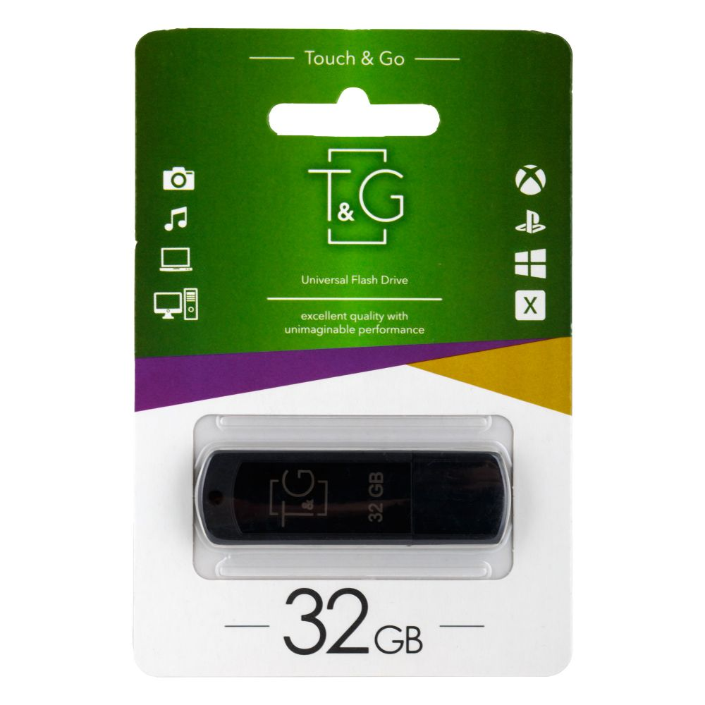Купить USB FLASH DRIVE T&G 32GB CLASSIC 011