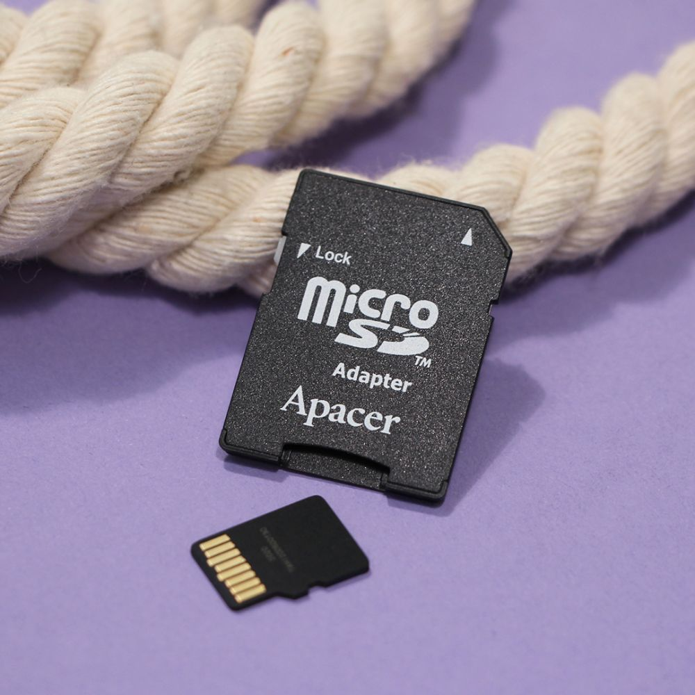 Купить КАРТА ПАМЯТИ APACER MICROSDXC 64GB 10 CLASS & ADAPTER_1