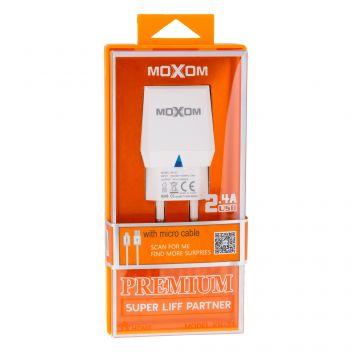 Купить СЕТЕВОЕ ЗАРЯДНОЕ УСТРОЙСТВО MOXOM KH-33 MICRO