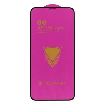 Купить ЗАЩИТНОЕ СТЕКЛО OG PURPLE TEMPERED GLASS PREMIUM PROTECTION FOR APPLE IPHONE 11 / XR БЕЗ УПАКОВКИ