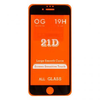 Купить ЗАЩИТНОЕ СТЕКЛО OG 21D BIG SHINING FOR APPLE IPHONE 6 / 6S БЕЗ УПАКОВКИ