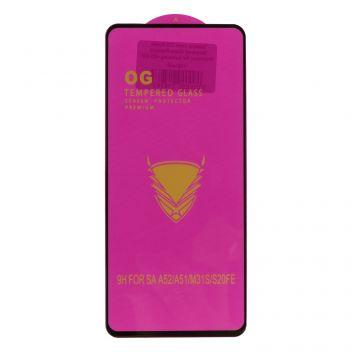 Купить ЗАЩИТНОЕ СТЕКЛО OG PURPLE TEMPERED GLASS PREMIUM PROTECTION FOR SAMSUNG A52 4G БЕЗ УПАКОВКИ