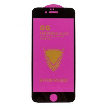 Купить ЗАЩИТНОЕ СТЕКЛО OG PURPLE TEMPERED GLASS PREMIUM PROTECTION FOR APPLE IPHONE 6 / 6S БЕЗ УПАКОВКИ