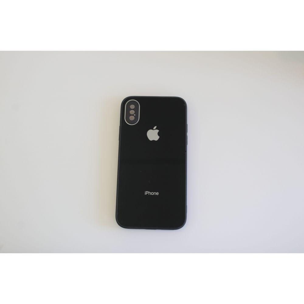 Купить ЧЕХОЛ TPU GLASS LOGO FULL WITH FRAME ДЛЯ APPLE IPHONE X / XS