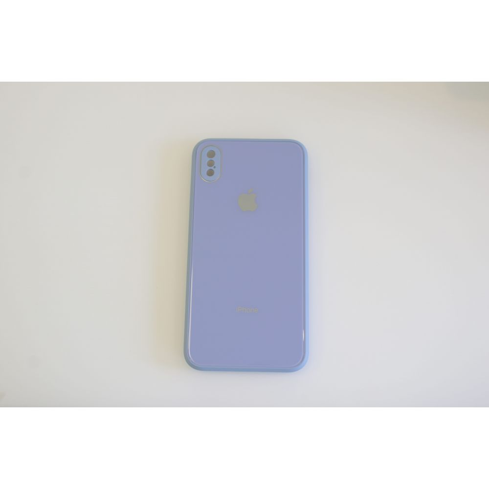 Купить ЧЕХОЛ TPU GLASS LOGO FULL WITH FRAME ДЛЯ APPLE IPHONE XS MAX