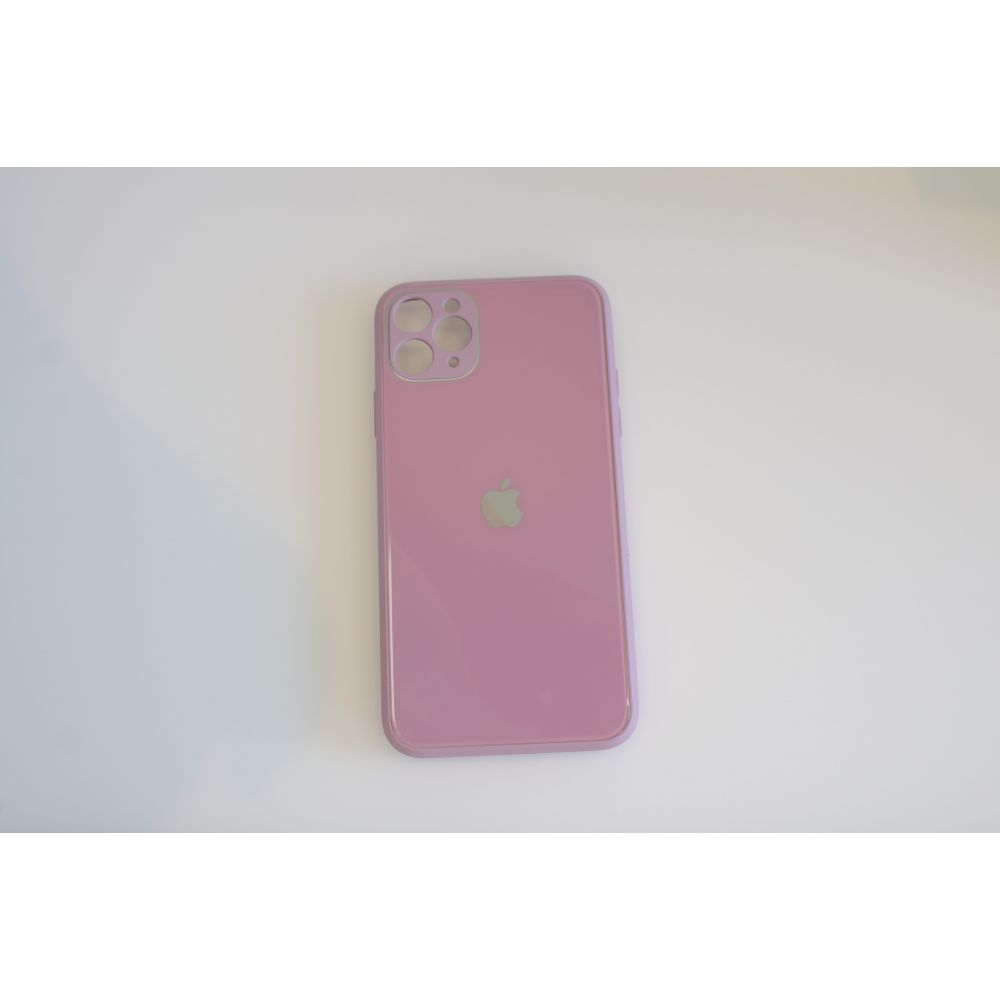 Купить ЧЕХОЛ TPU GLASS LOGO FULL WITH FRAME ДЛЯ APPLE IPHONE 11 PRO MAX