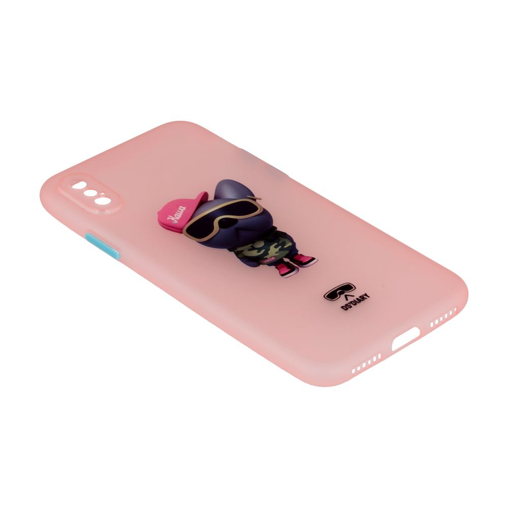Купить ЧЕХОЛ TPU ULTRA-THIN MATT WITH FRAME FOR IPHONE X / XS_8