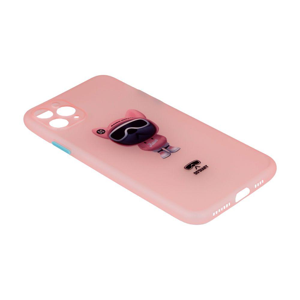 Купить ЧЕХОЛ TPU ULTRA-THIN MATT WITH FRAME FOR IPHONE 11 PRO MAX_8