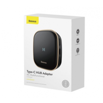 Купить BASEUS HUB USB 3.0 / TYPE-C / RJ45 CHARGER 60W CAHUB-AU