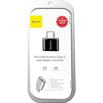 Купить USB ПЕРЕХОДНИК BASEUS USB TO TYPE-C CATOTG