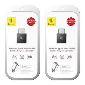 Купить USB ПЕРЕХОДНИК BASEUS USB TO TYPE-C CATJQ-B